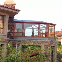 中空隔热玻璃阳光房 电控天窗阳光房