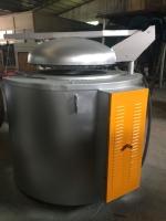 供应300公斤电熔铝炉 坩埚熔铝炉