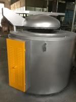 供应400公斤坩埚熔铝炉