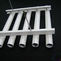 木纹铝圆管吊顶装饰设计效果