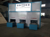 Extrusion press mould heating oven