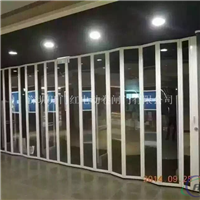 铝合金水晶折叠门、深圳水晶折叠门