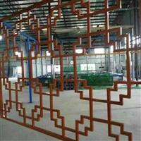 广东仿木纹铝窗花厂家