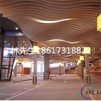 【大型商场热转印木纹铝方通 】厂家