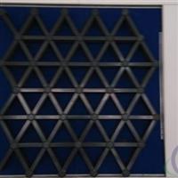 三角形铝格栅产品结构
