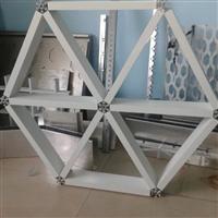 三角形铝格栅独特结构