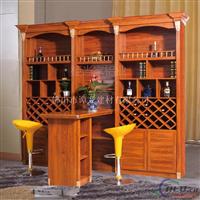 新款仿木纹衣柜、酒柜、浴室柜型材现货供应