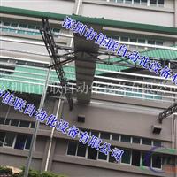 工厂三楼仓库斜坡出货滑梯滑道楼层输送带
