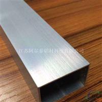 长期生产铝合金方管 铝合金方管挤压