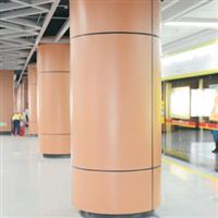 氟碳包柱铝单板商场用氟碳包柱铝单板
