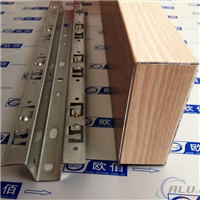 厂家销售各种规格木纹铝方管