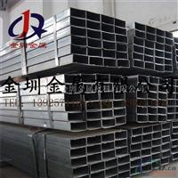 现货供应6063铝方管 6061合金铝方管