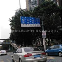 標志桿生產 單懸臂式標志桿 交通標牌桿廠家