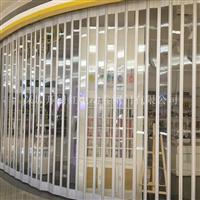 深圳白石水晶折叠门、水晶卷闸门、水晶卷帘门
