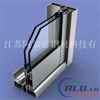 热销高强度气密式断桥穿条隔热铝合金门窗
