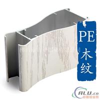 PE木纹平开门铝型材代理