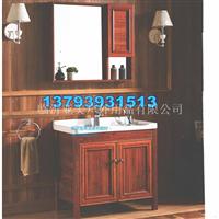 全铝浴室柜铝材厂家现货供应仿实木