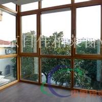 日佳柏莱门窗品牌  木包铝门窗型材厂家
