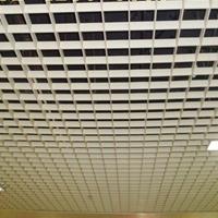 格子吊顶铝格栅天花厂家 铝合金格子天花