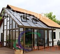 户外阳光房玻璃房遮阳房长远全铝阳光房