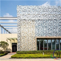 外墙门头镂空铝单板、广告牌艺术铝单板