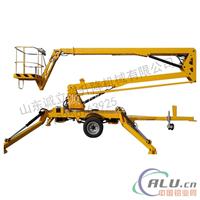 厂家生产制造牵引式折臂升降机高空作业车