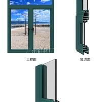 隔热铝合金门窗材料批发