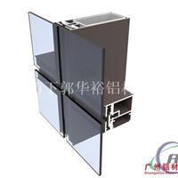 Q1403隐框玻璃幕墙铝型材