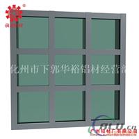 Q1401铝合金明框玻璃幕墙铝型材