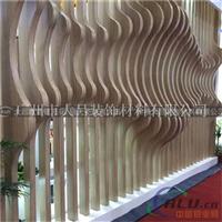 型材铝方通 室内幕墙木纹铝