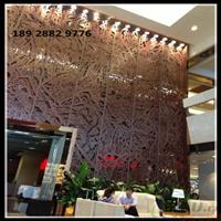 山东省厂家专业定制门头招牌艺术雕花铝单板