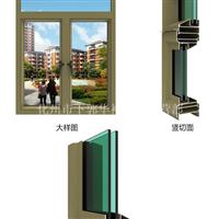 GXH70系列铝合金平开窗型材