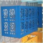 空调外机罩空调保护罩郴州铝合金空调罩
