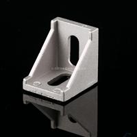 供应工业铝型材配件 直角件 90度内接角