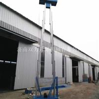 电动升降平台 双柱铝合金升降机