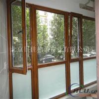 日佳柏莱门窗品牌  木包铝门窗红橡木材质