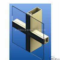 供应氟碳烤漆门窗幕墙铝合金型材