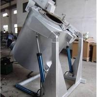 供应90度翻转电熔炉 可倾斜式金属熔炼炉
