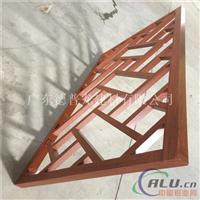 绍兴市木纹型材铝窗花铝雕花板厂家直销