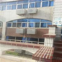 舟山铝合金空调保护罩冲孔雕花空调防护罩