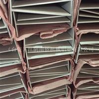 6063材质氧化T字吊梁净化铝型材
