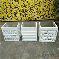 衢州直销铝合金空调罩尺寸 铝空调罩价格