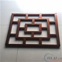 广东铝合金型材木纹铝窗花装饰材料生产厂家