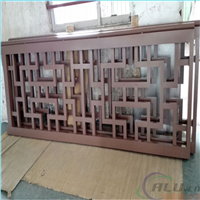 浙江省铝合金窗花雕花铝板生产厂家