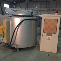 熔铝炉 350KG熔炼保温炉 坩埚熔铝电阻炉