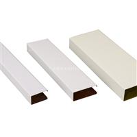 白色铝方通 丨幕墙铝方通丨吊顶方通