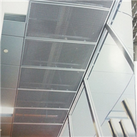 机房专用金属拉网板、拉网板厂家价格