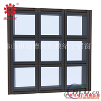 Q1403系列隐框玻璃幕墙铝型材