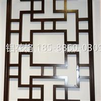 河北镂空铝窗花型材厂家直销18588600309