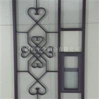 贵州镂空铝窗花型材厂家定制18588600309